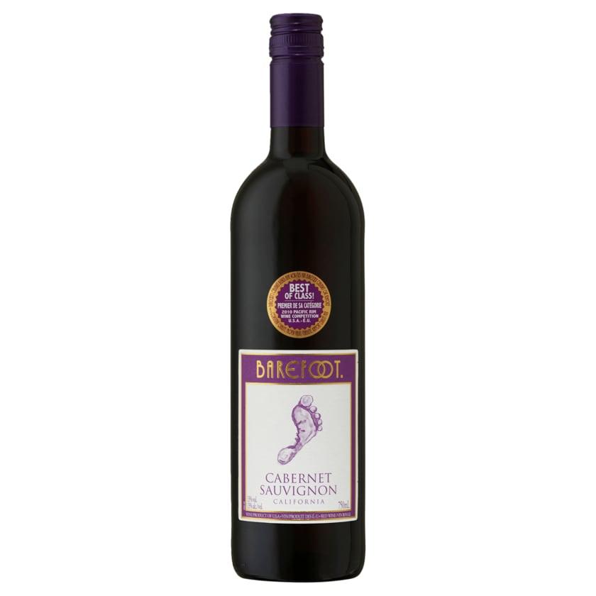 Barefoot Rotwein Cabernet Sauvignon halbtrocken 0,75l
