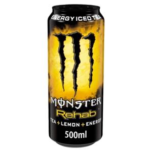 Monster Energy Rehab Tea+Lemon+Energy 0,5l