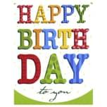 Vivess Mini Glückwunschkarte Geburtstag