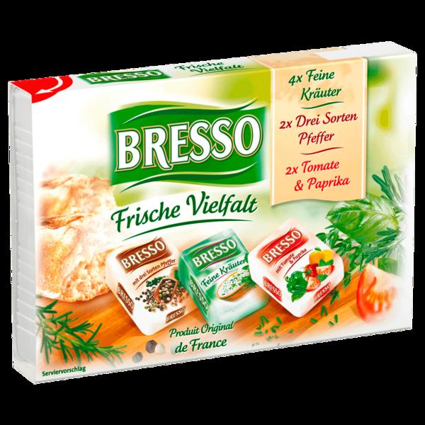 Bresso Frischkäse Frische Vielfalt portioniert 120g