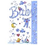 Vivess Glückwunschkarte Baby 1 Stück