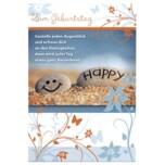Vivess Glückwunschkarte Geburtstag Stein