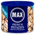 Max Premium Pistazien ohne Salz und ohne Fett & Öl geröstet 225g
