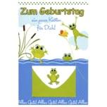 Vivess Geldkarte Geburtstag Frosch