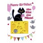 Vivess Geldkarte Geburtstag Katze
