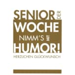 Vivess Glückwunschkarte Geburtstag Nimm's mit Humor