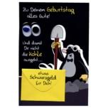 Vivess Geldkarte Geburtstag Maulwurf