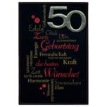 Vivess Glückwunschkarte 50. Geburtstag
