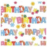 Vivess Glückwunschkarte Happy Birthday 1 Stück