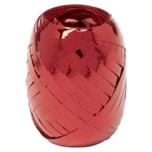 Vivess Eiknäuel Geschenkband rot metallic 5mm