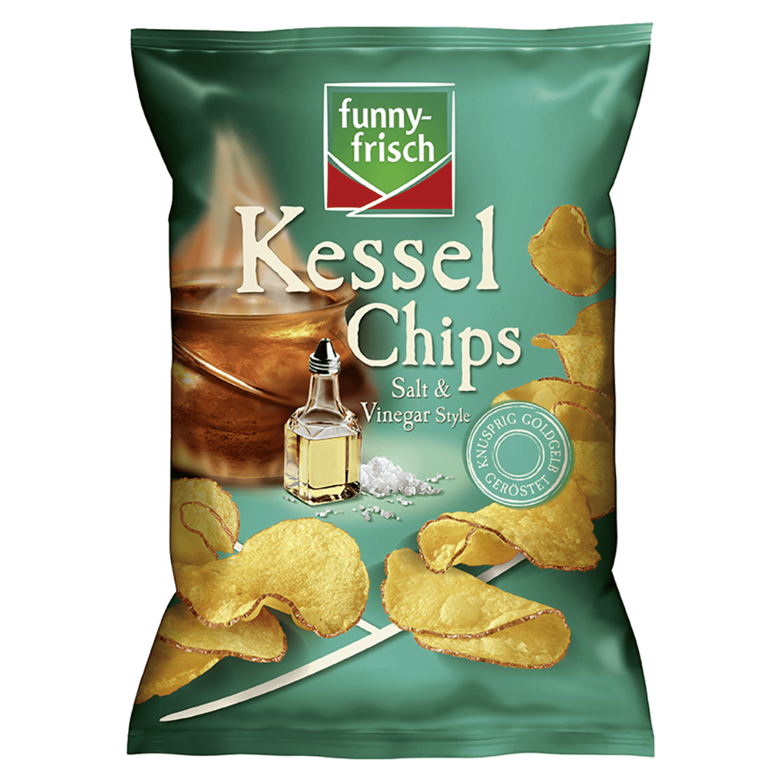 Funny-frisch Kessel Chips Salt & Vinegar 120g