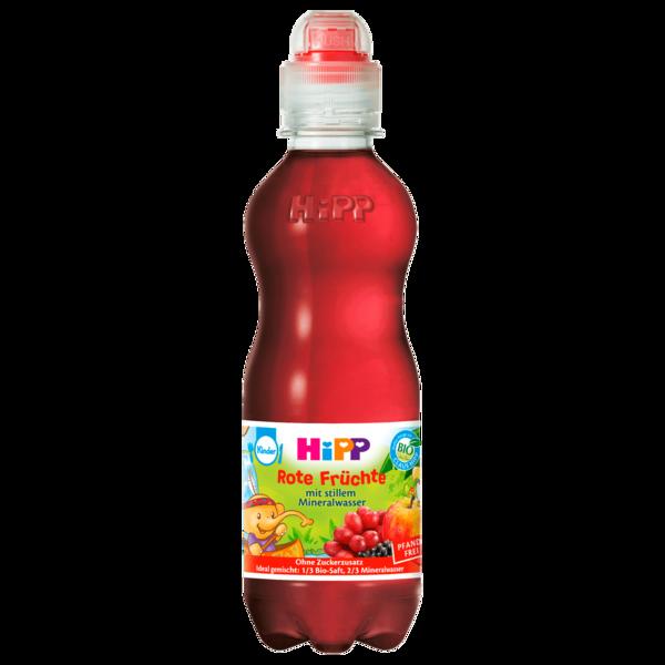 Hipp Rote Bio Früchte mit stillem Mineralwasser 0,3l