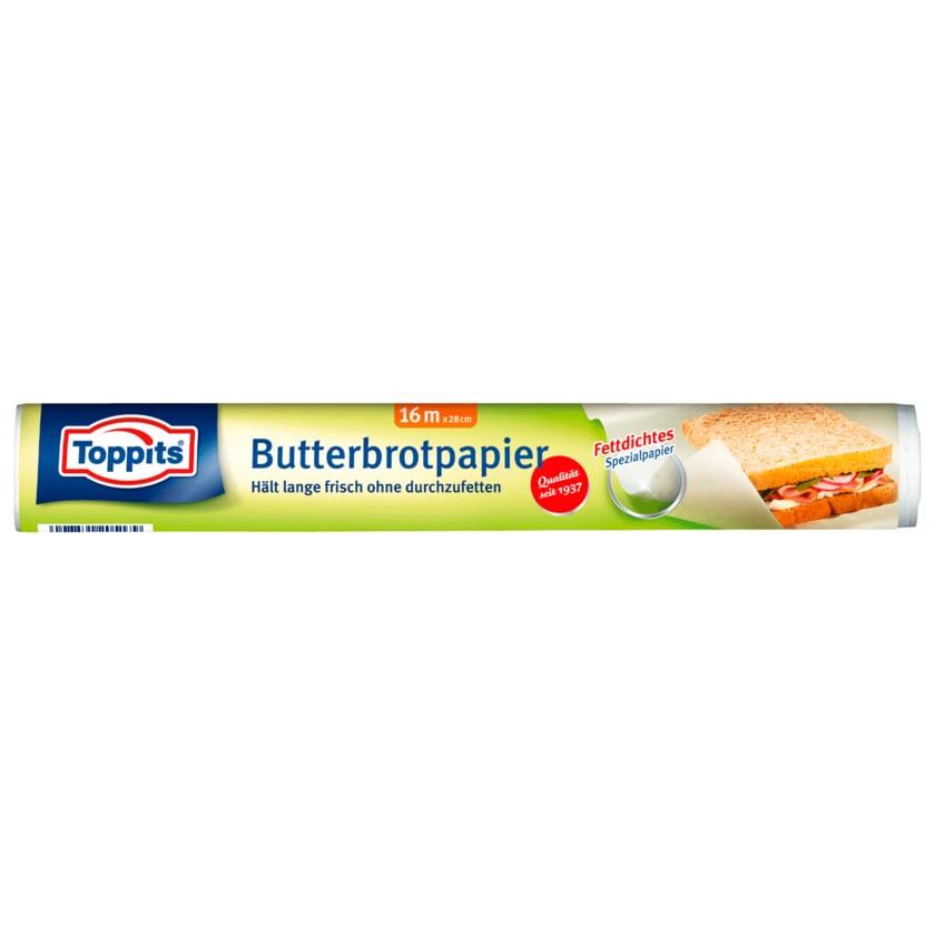Toppits Butterbrotpapier 16m
