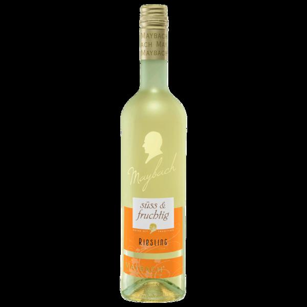 Maybach Weißwein Riesling QbA süss & fruchtig 0,75l