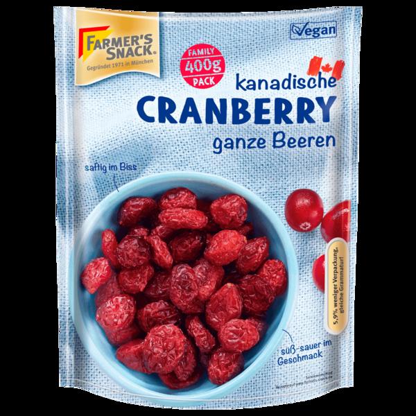 Farmer's Snack Cranberry 400g