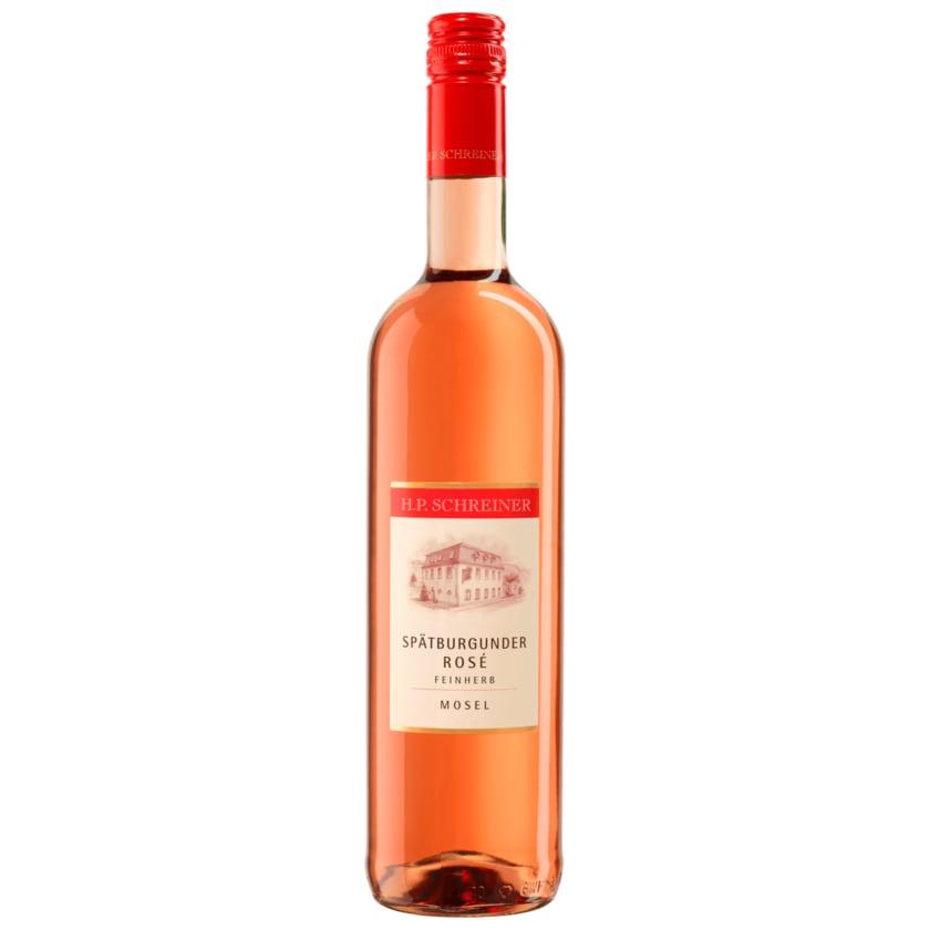 H.P. Schreiner Spätburgunder Rosé feinherb 0,75l
