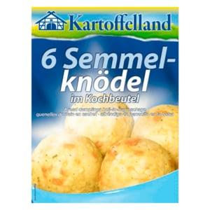 Kartoffelland 6 Semmelknödel im Kochbeutel 200g
