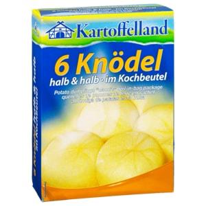 Kartoffelland 6 Knödel halb & halb im Kochbeutel 200g