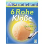Kartoffelland Rohe Klöße im Kochbeutel 200g, 6 Stück