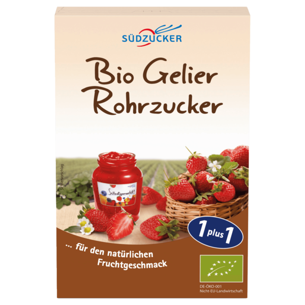 Südzucker Bio Rohr Gelierzucker 500g