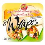 Mr. Wraps 8 Wraps 320g