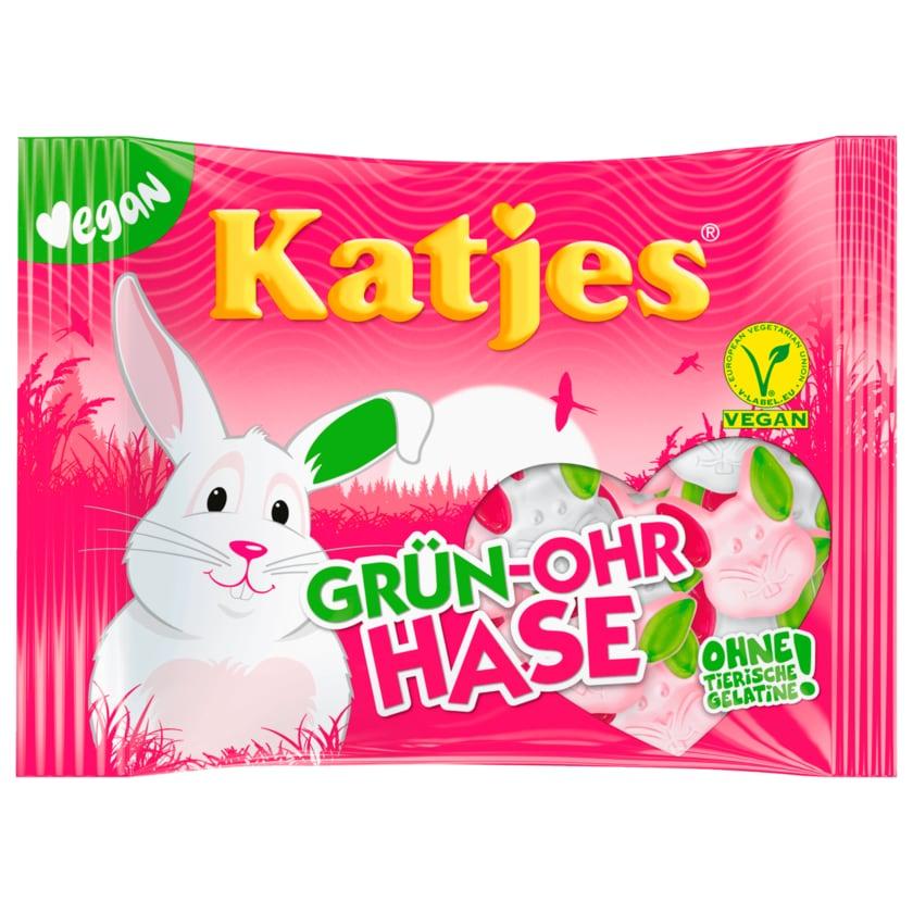 Katjes Fruchtgummi Grün-Ohr Hase 200g