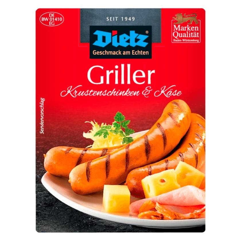 Dietz Griller mit Käse 280g