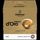 Nescafé Dolce Gusto Dallmayr Crema d'Oro 120g, 16 Kapseln
