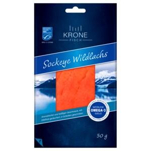 Krone Fisch Sockeye Wildlachs 50g