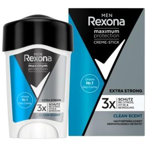 Rexona Men Deo Cremestick Maximum Protection Clean Scent Anti-Transpirant 45ml