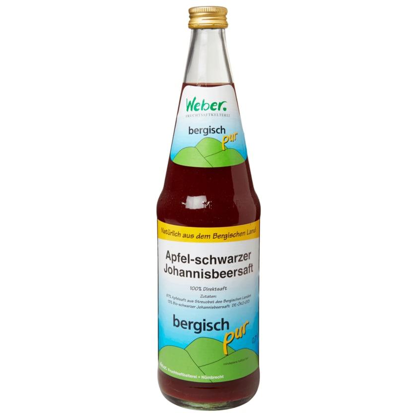 Bergisch pur Apfel-Johannisbeersaft 0,7l