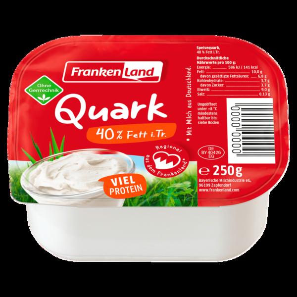 Frankenland die Frankenmilch Speisequark 40% 250g