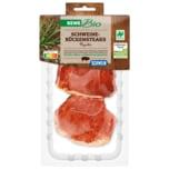 REWE Bio Schweine-Rückensteak Paprika 2 Stück