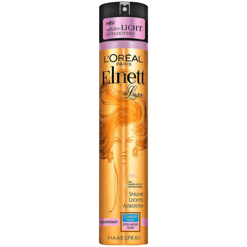 L'Oréal Paris Elnett de Luxe Haarspray Leuchtkraft 300ml