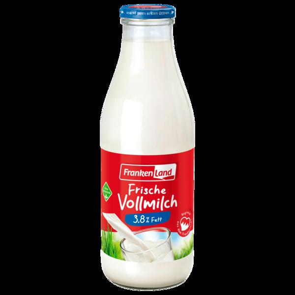 Frankenland Frische Landmilch 3,8% 1l