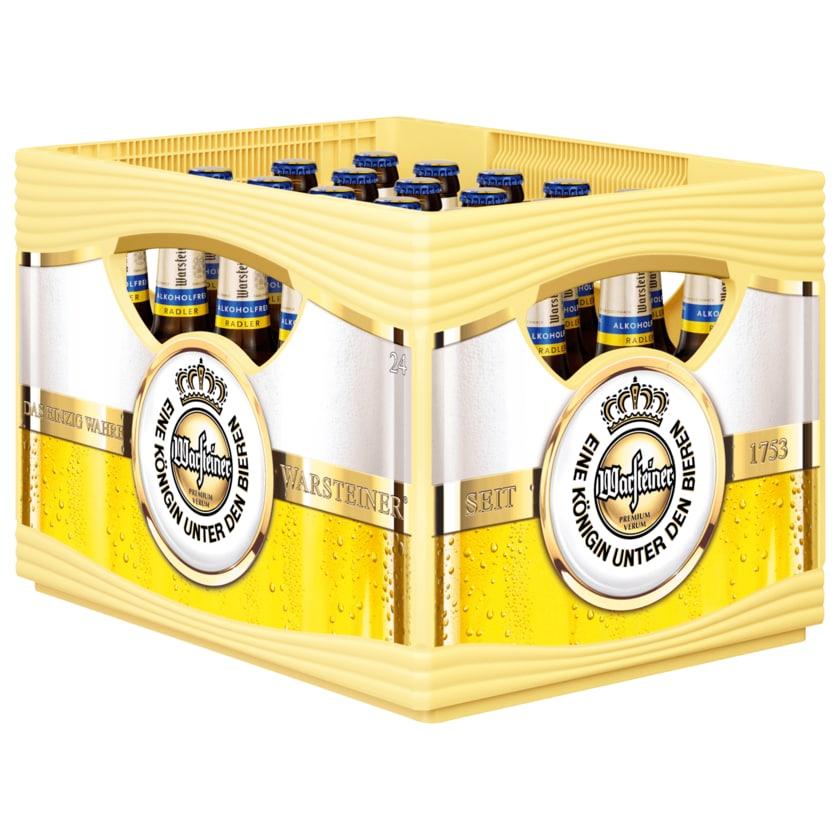 Warsteiner Radler alkoholfrei 24x0,33l