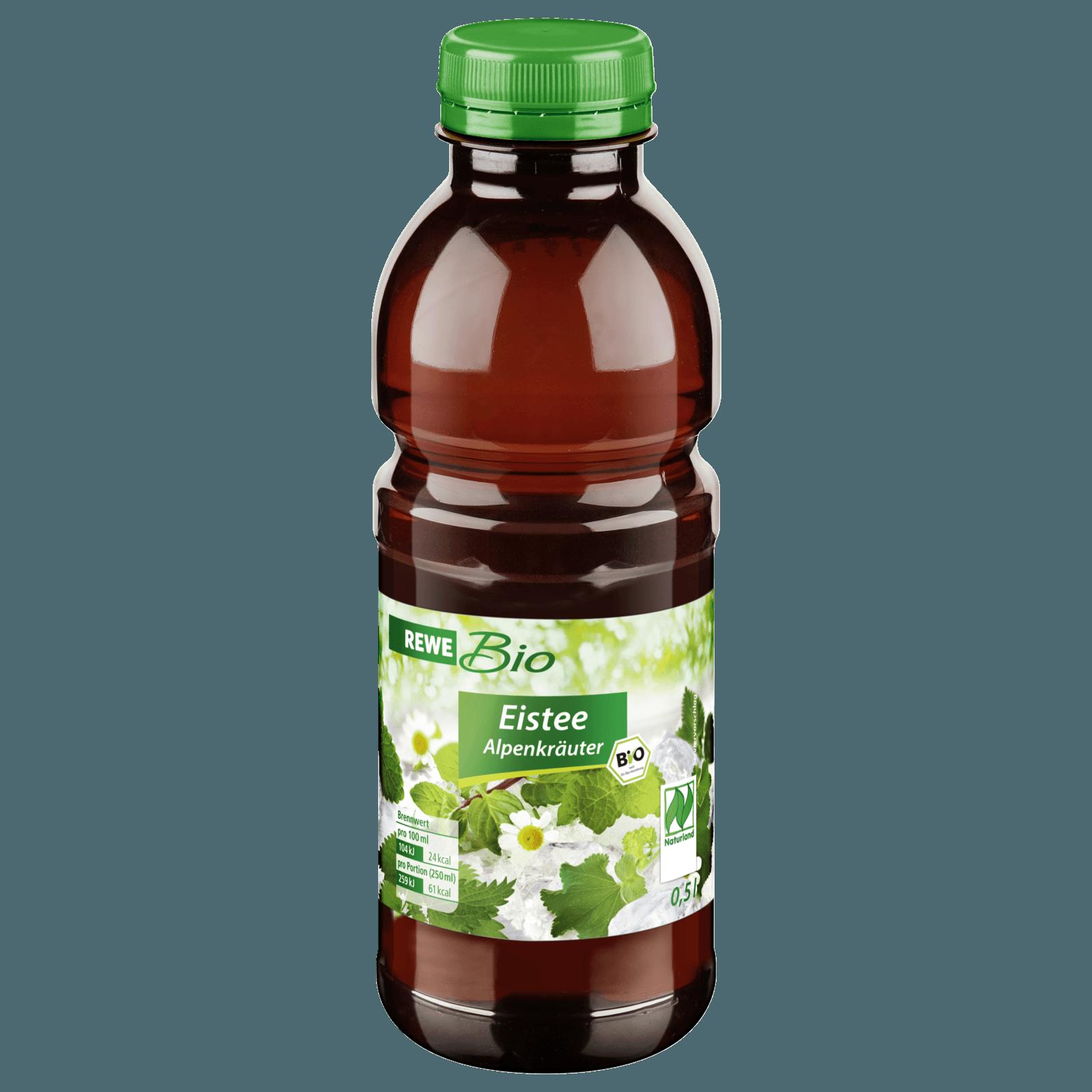 REWE Bio Eistee Alpenkräuter 0,5l