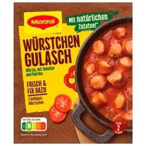 Maggi Fix & frisch Würstchen-Gulasch 30g