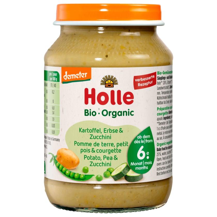 Holle Bio Demeter Kartoffeln mit Erbsen & Zucchini ab dem 6. Monat 190g