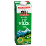 Berchtesgadener Land Frische Bergbauern Frühstücksmilch 0,7% 1l