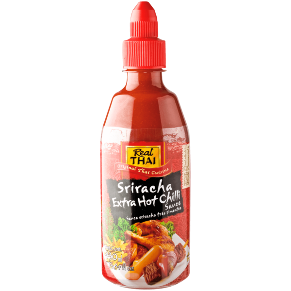 Real Thai Sriracha Chili Sauce extra scharf 430ml