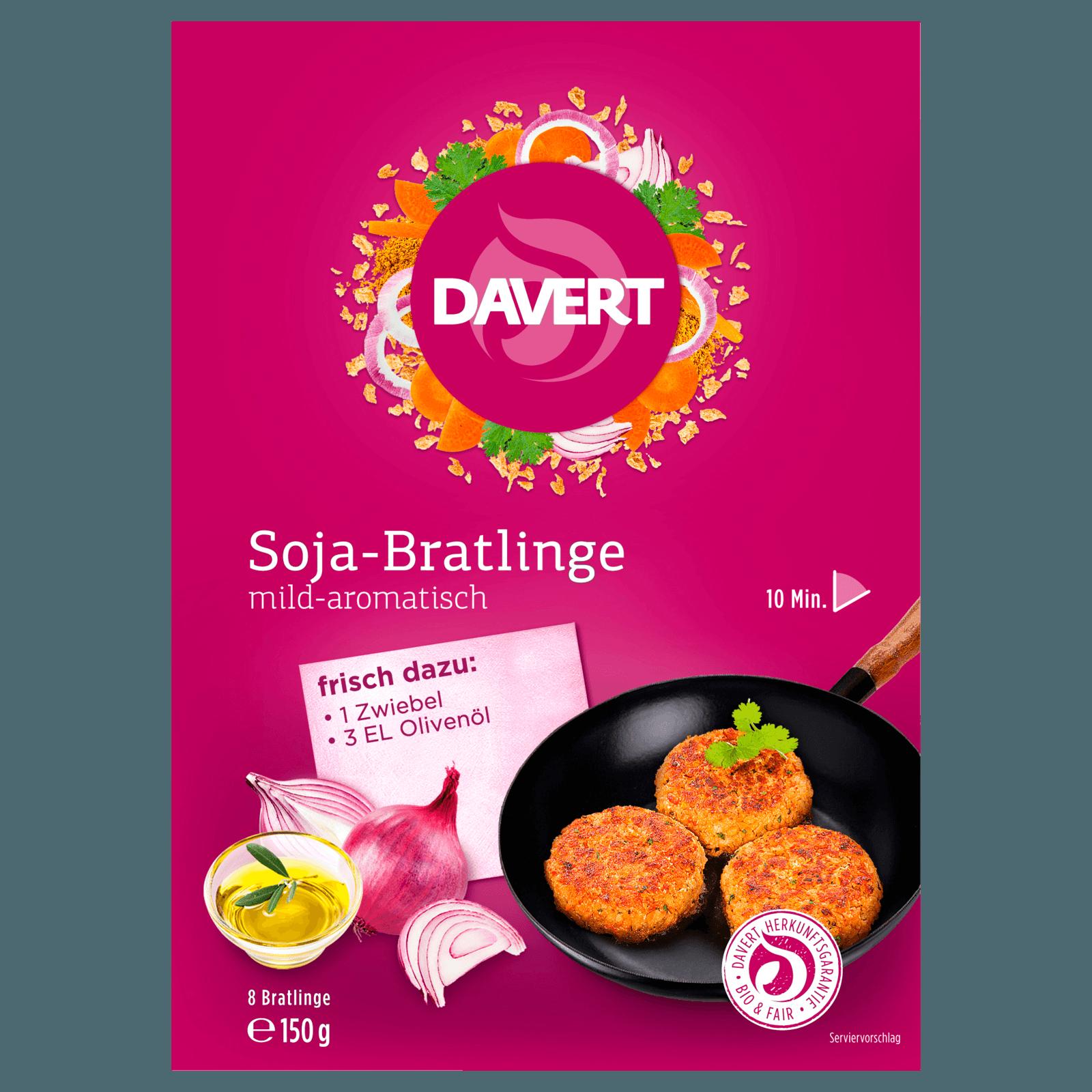 Davert Soja-Bratlinge 150g
