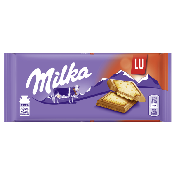 Milka Tafel Lu Kekse 87g