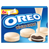 Oreo Cookies White Choc 246g