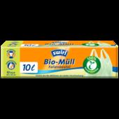 Swirl Bio-Müll-Folienbeutel mit Tragegriff 10l, 10 Stück