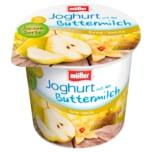 Müller Joghurt mit der Buttermilch Birne-Vanille 150g