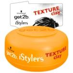 Schwarzkopf got2b Paste Clay iStylers Texture starker Halt 75ml