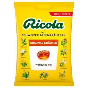 Ricola Kräuter Original zuckerfrei 75g