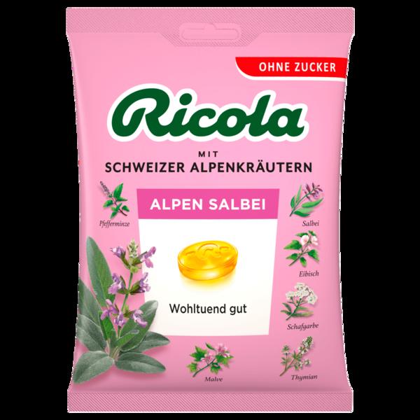 Ricola Alpen-Salbei zuckerfrei 75g