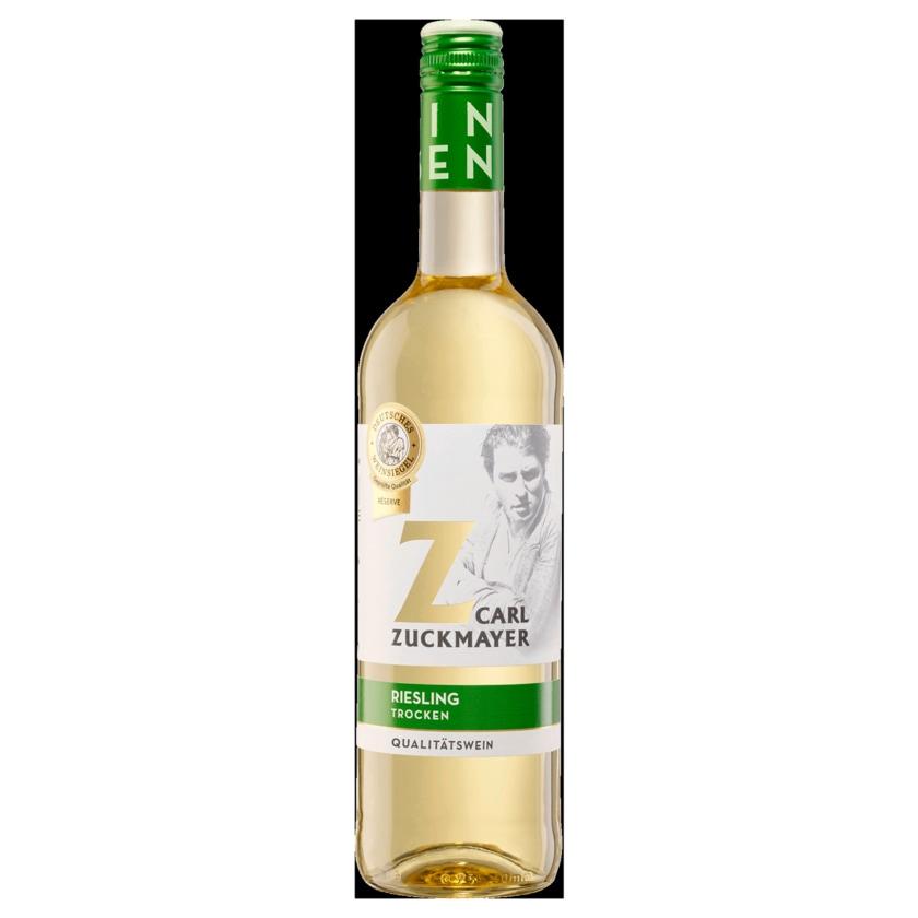 Carl Zuckmayer Weißwein RHH Riesling QbA trocken 0,75l